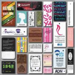 Cartulinas para etiquetas cogantes o tarjetas