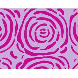 Papel de regalo reciclado, fondo lila