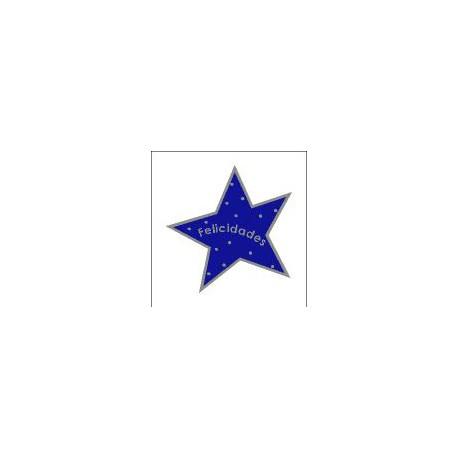 Etiqueta Adhesiva Estrella.