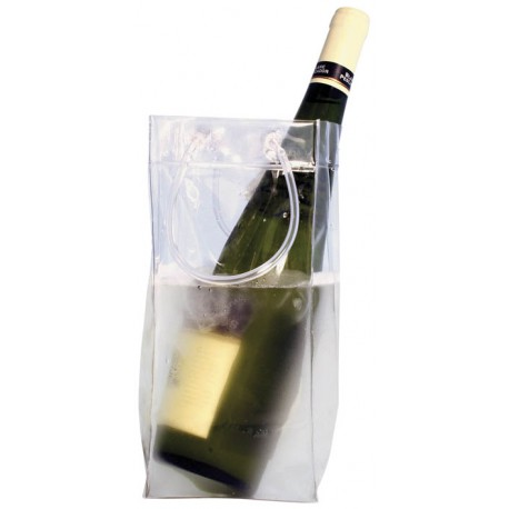 Bolsas para  botellas translucida